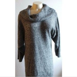 ALYX  women's soft knitted long sweater cowl neck